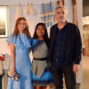 Marina de Tariva, Yalitza Aparicio, Alfonso Cuaron