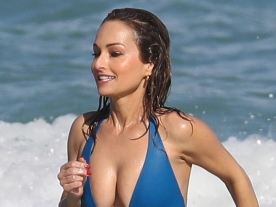 Giada De Laurentiis' Mother-Daughter Beach Day Will Cure Your Winter Blues