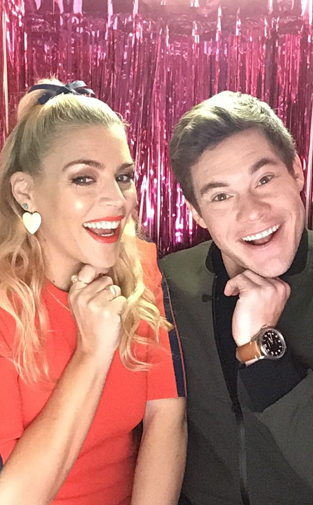 Adam DeVine -  The  Isn't It Romantic  actor and the  Busy Tonight  host are practically twins in this snap.