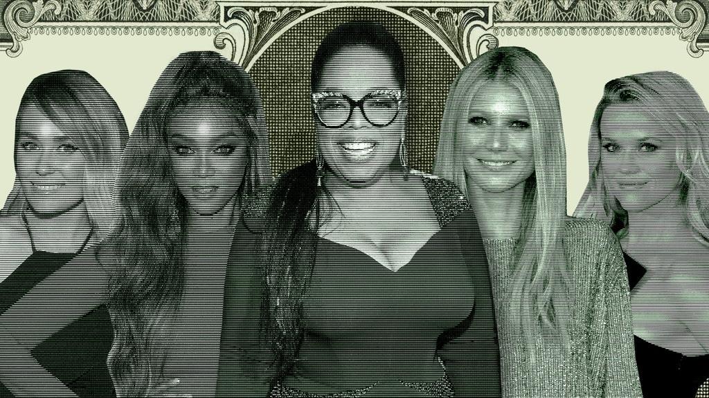 Women Running Empires, Oprah Winfrey, Tyra Banks, Gwyneth Paltrow, Reese Witherspoon, Lauren Conrad