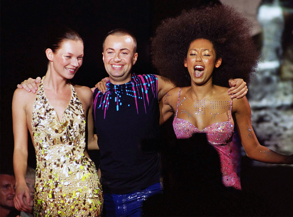 Kate Moss, Mel B, Julien MacDonald, Fashion Week 1999, London