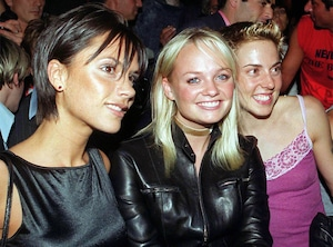 Victoria Beckham, Emma Bunton, Melanie Chisholm, Fashion Week 1999, London