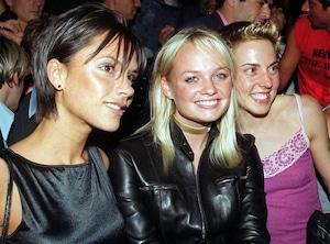 Victoria Beckham, Emma Bunton, Melanie Chisholm, Fashion Week 1999, London