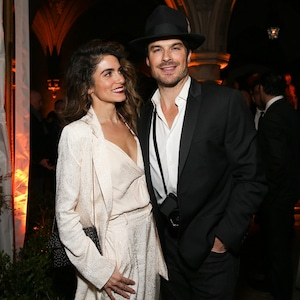 Nikki Reed, Ian Somerhalder, Cadillac Oscar Party