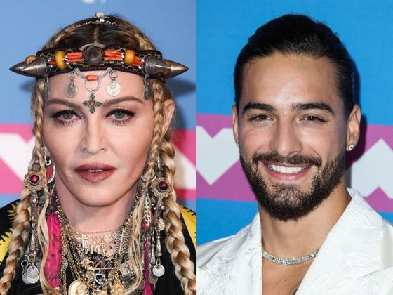 Madonna y Maluma trabajan en una colaboración musical ¡Míralos!