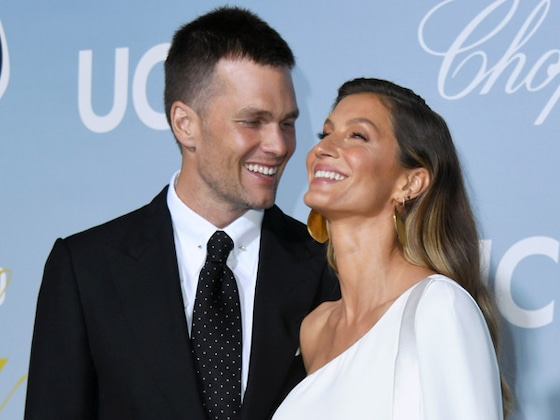 Tom Brady and Gisele Bündchen Pack on the PDA at Science Gala