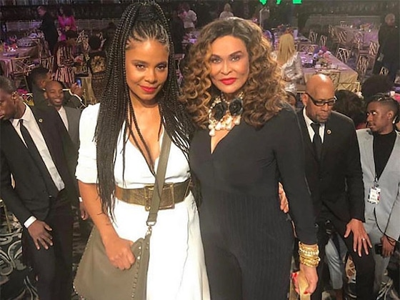 Beyoncé's Mom Tina Knowles Lawson Hangs Out With Sanaa Lathan After Bitegate