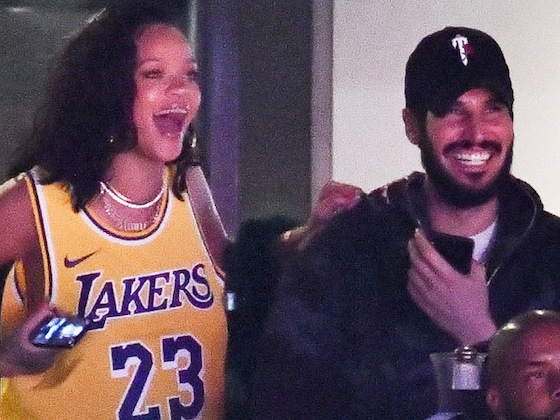 Rihanna Has Basketball on the Brain During Date Night With Hassan Jameel