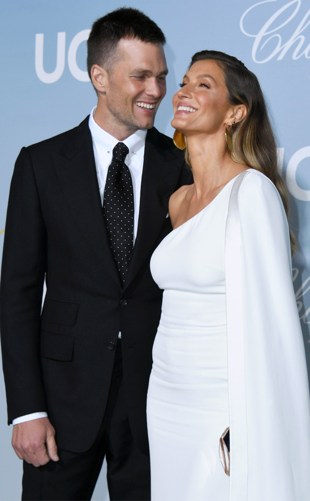 Tom Brady, Gisele Bundchen, 2019 Hollywood For Science Gala