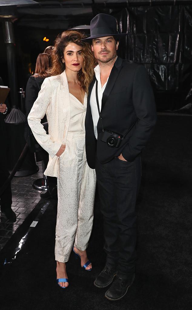 Nikki Reed, Ian Somerhalder, Pre-Oscars 2019 Party