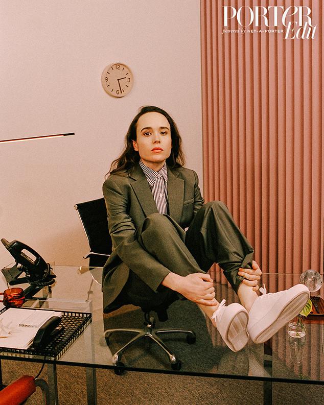 Ellen Page, PorterEdit