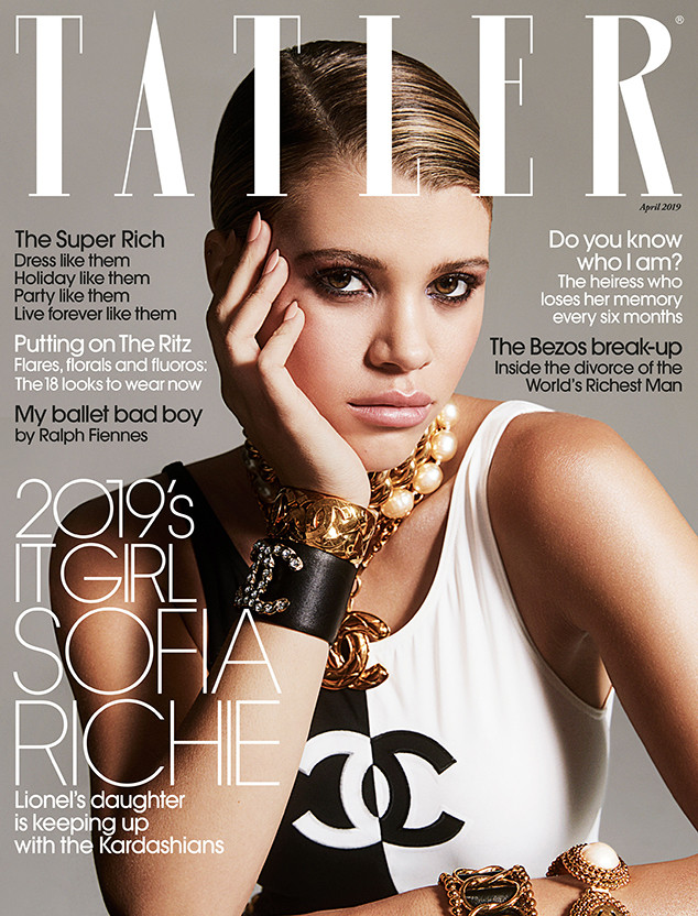 Sofia Richie, Tatler, April 2019