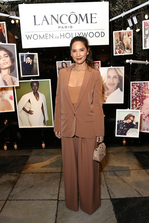 Olivia Munn -  The actress looks chic at the Vanity Fair andLancôme Toast Women in Hollywood event.