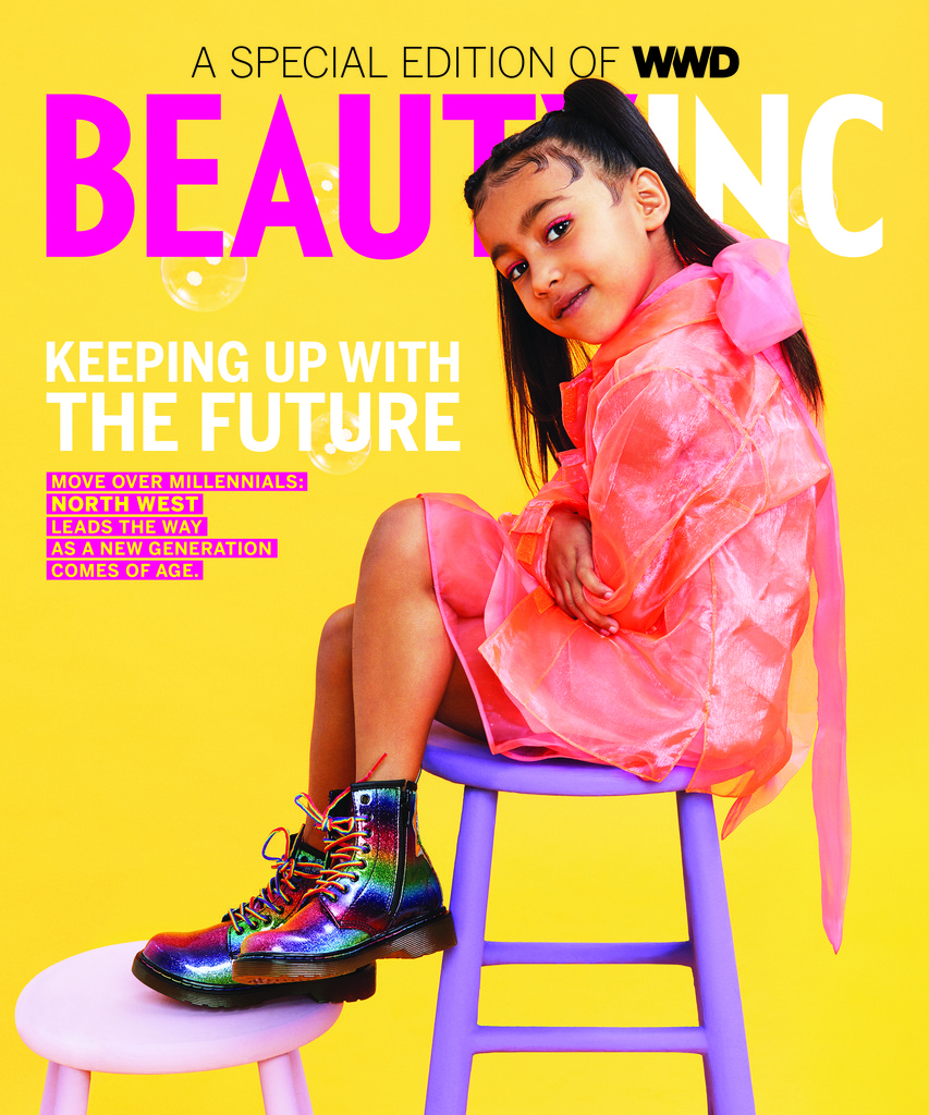 North West Scores First Solo Magazine Cover at Age 5