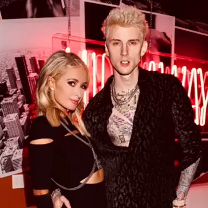 Paris Hilton Connects With Machine Gun Kelly At Party And Is Open To