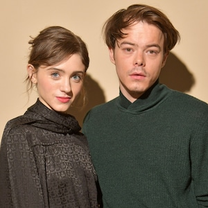 Natalia Dyer, Charlie Heaton, Milan Fashion Week