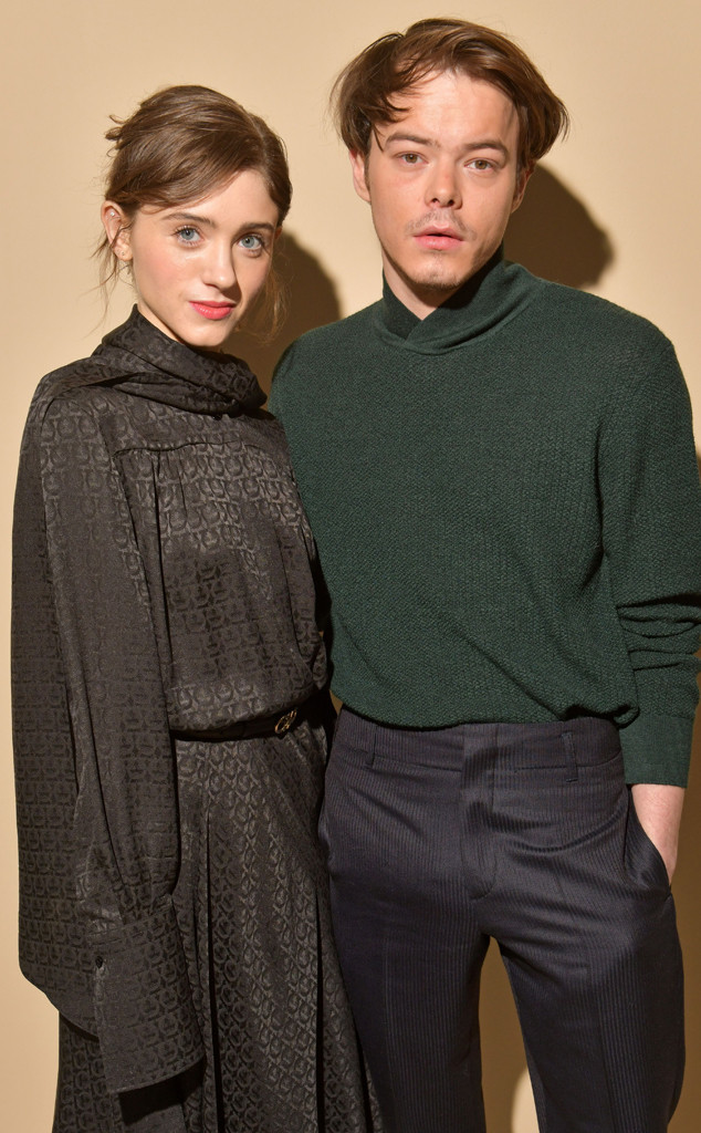 Natalia Dyer, Charlie Heaton, Milan Fashion Week, Salvatore Ferragamo Show