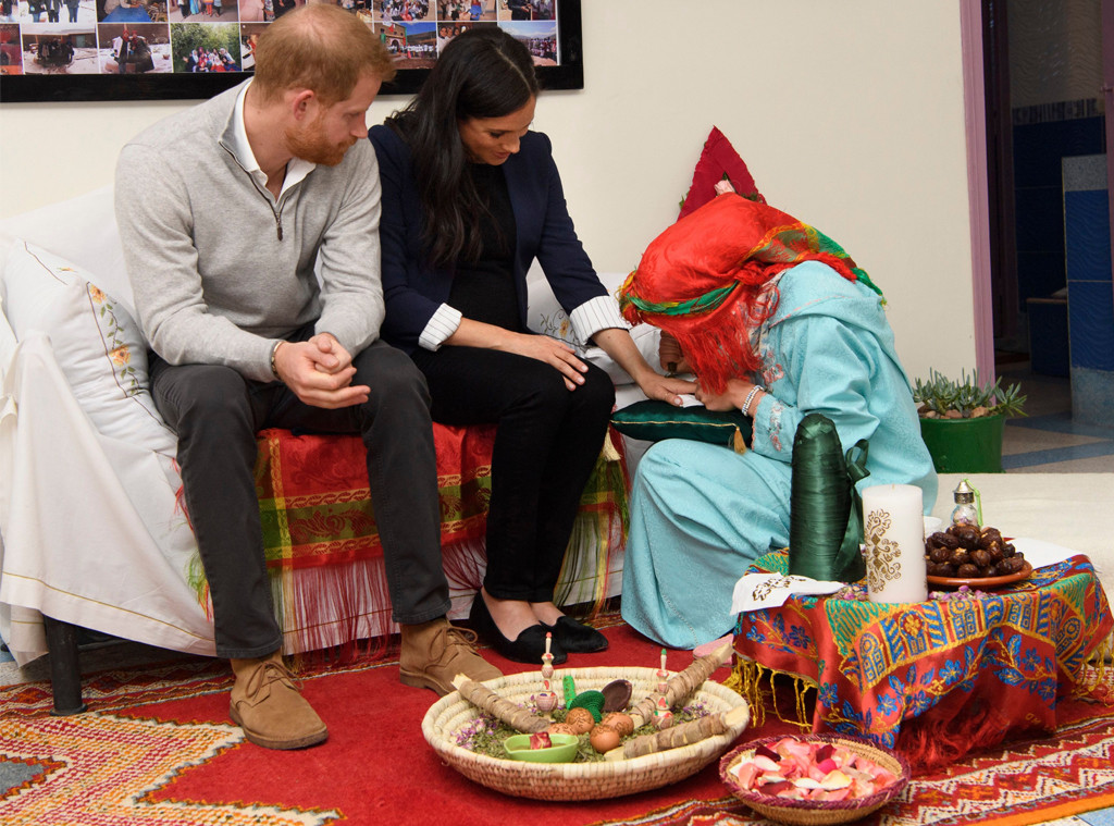 Prince Harry, Meghan Markle, Henna Tattoo, Morocco Visit