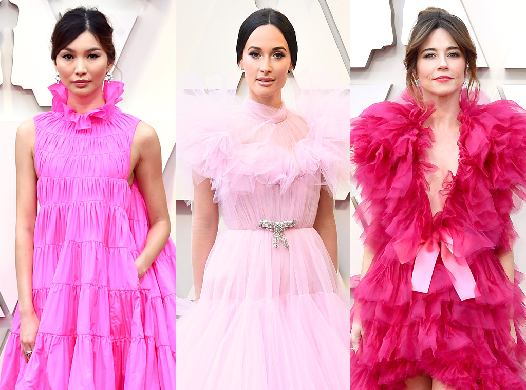 Gemma Chan, Kacey Musgraves, Linda Cardelini, 2019 Oscars