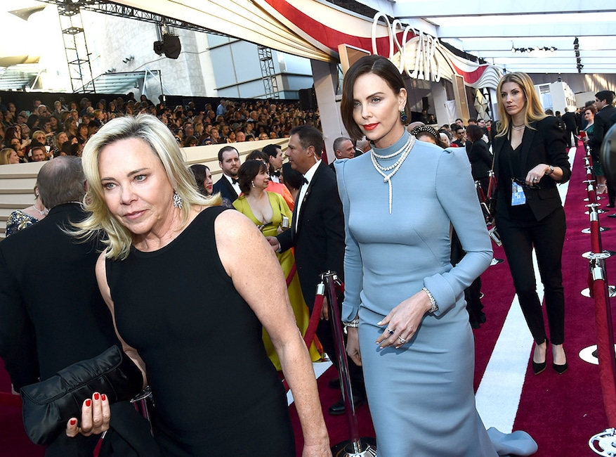 Charlize Theron, Celebs and Moms, 2019 Oscars