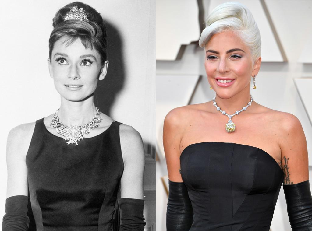 Audrey Hepburn, Lady Gaga