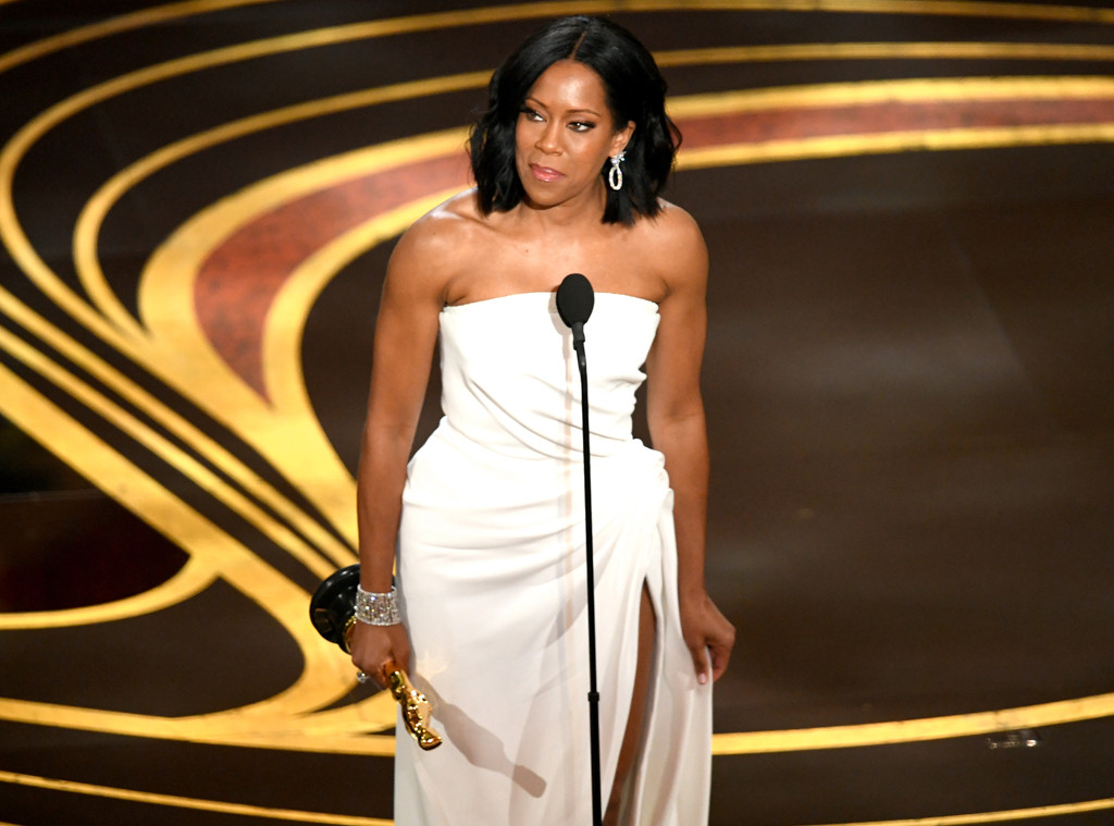 Regina King Pays Tribute to Her Mother After Winning the Oscar for Best Supporting Actress