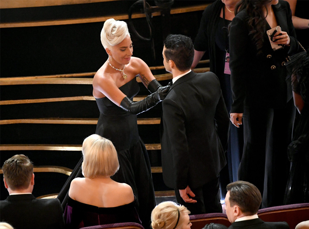 Oscars 2019: Lady Gaga Comes To Rami Malek's Rescue At 2019 Oscars
