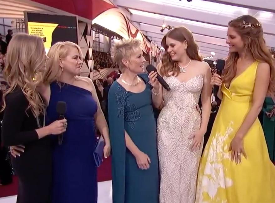 Amy Adams, Celebs and Moms, 2019 Oscars