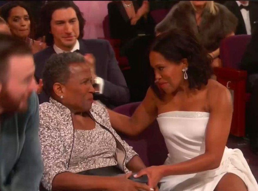 Regina King, Celebs and Moms, 2019 Oscars