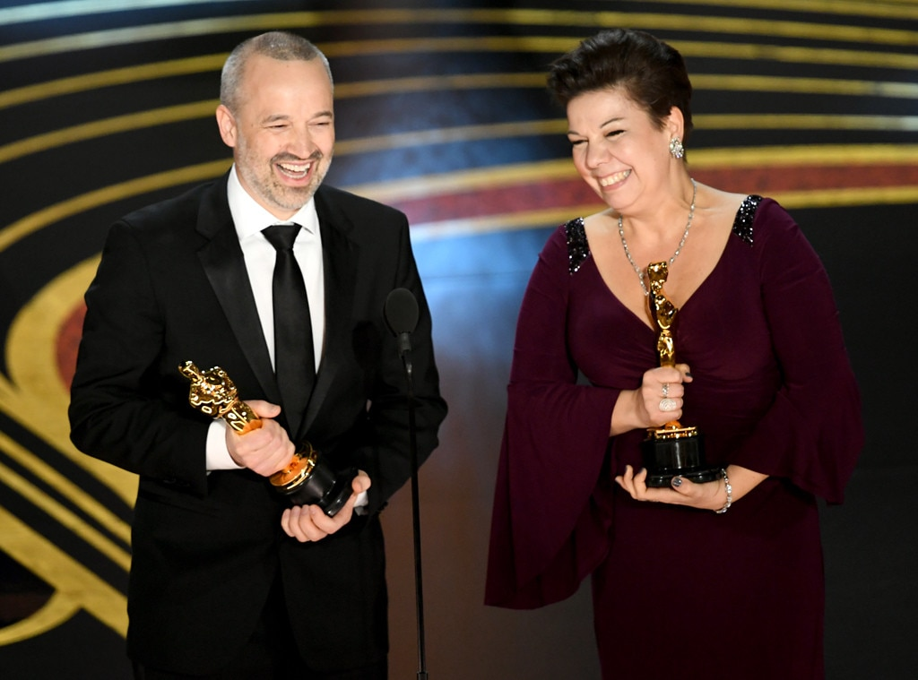John Warhurst, Nina Hartstone, 2019 Oscars, 2019 Academy Awards, Winners