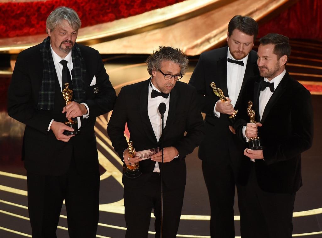 First Man, 2019 Oscars, 2019 Academy Awards, Winners