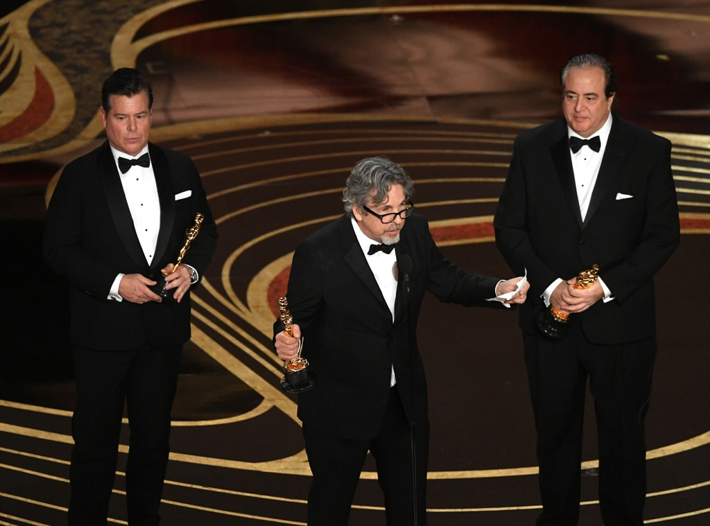 Brian Currie, Peter Farrelly, Nick Vallelonga, 2019 Oscars, 2019 Academy Awards, Winners