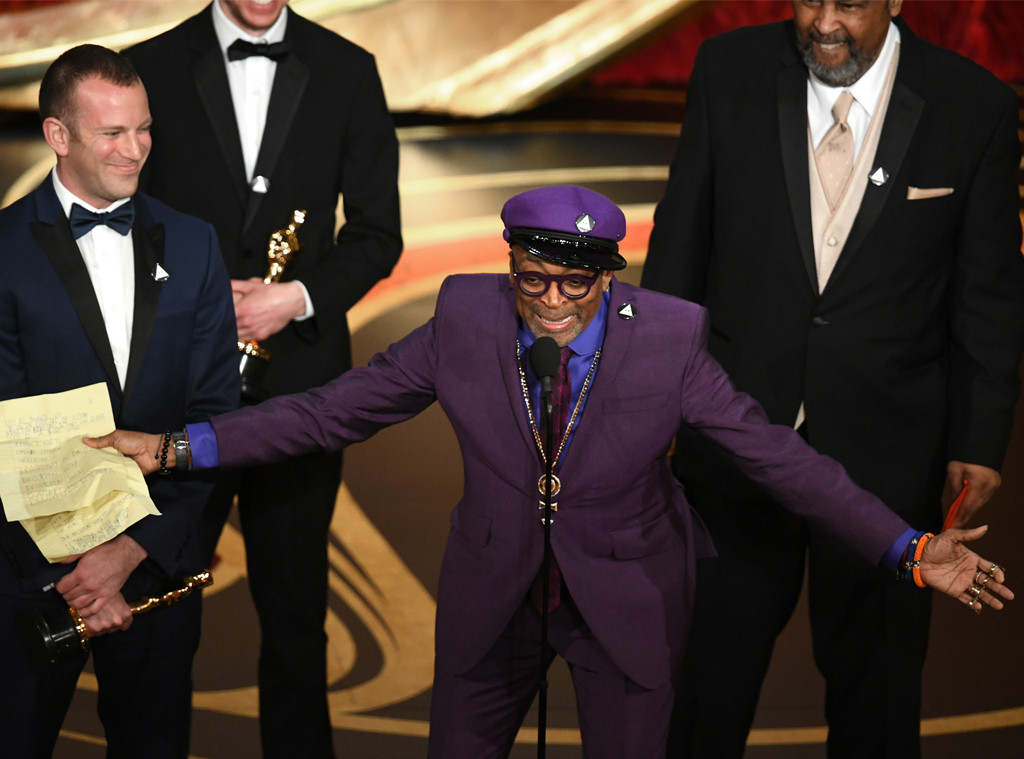 Spike Lee, 2019 Oscars, 2019 Academy Awards, Winners