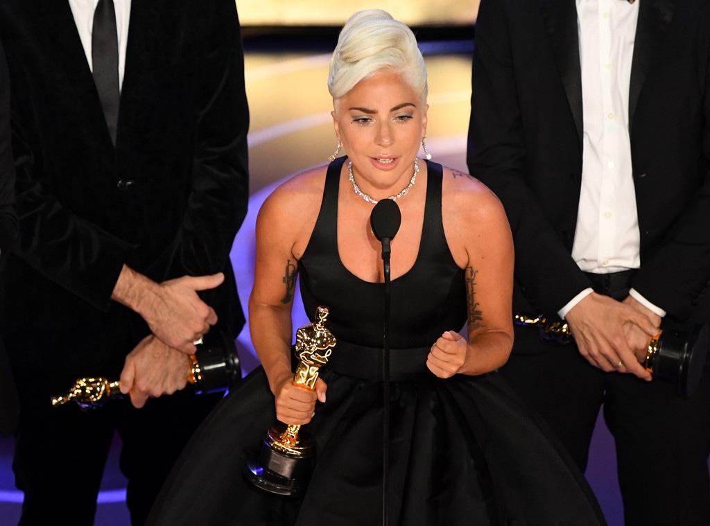 Lady Gaga, 2019 Oscars, 2019 Academy Awards, Winners