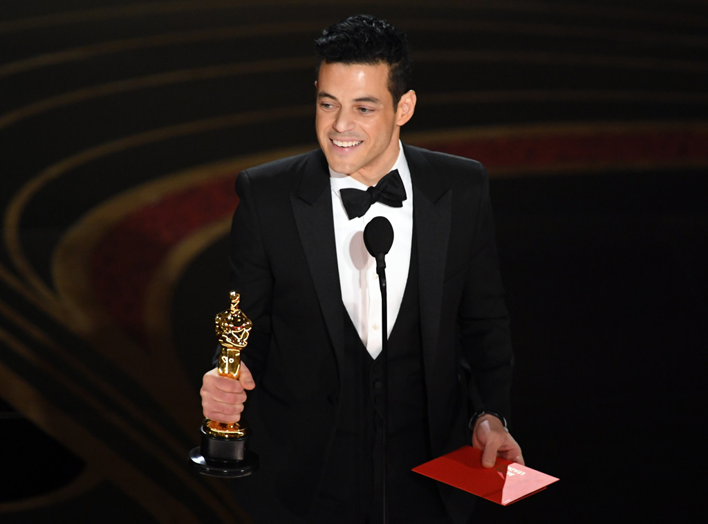 Rami Malek, 2019 Oscars, 2019 Academy Awards, Winners
