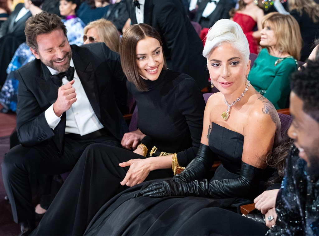 Lady Gaga, Bradley Cooper, Irina Shayk, 2019 Oscars, 2019 Academy Awards, Candids