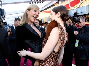 Allison Janney, Emma Stone, 2019 Oscars, 2019 Academy Awards, Candids