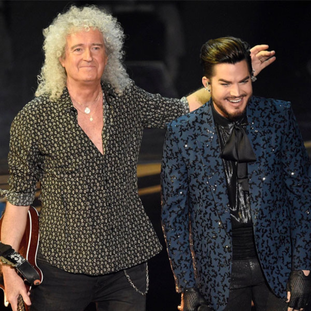 Queen Adam Lambert Turn The 2019 Oscars Into A Rock N Roll Concert E Online