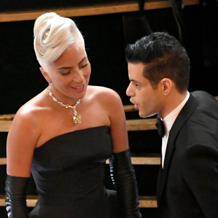 Image result for lady gaga rami malek