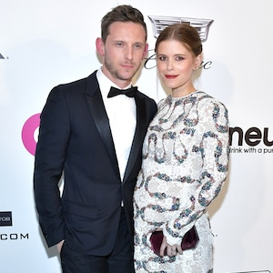 Jamie Bell, Kate Mara, 2019 Elton John Oscar Party