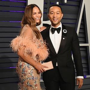 Chrissy Teigen, John Legend, 2019 Vanity Fair Oscar Party, 2019 Oscars