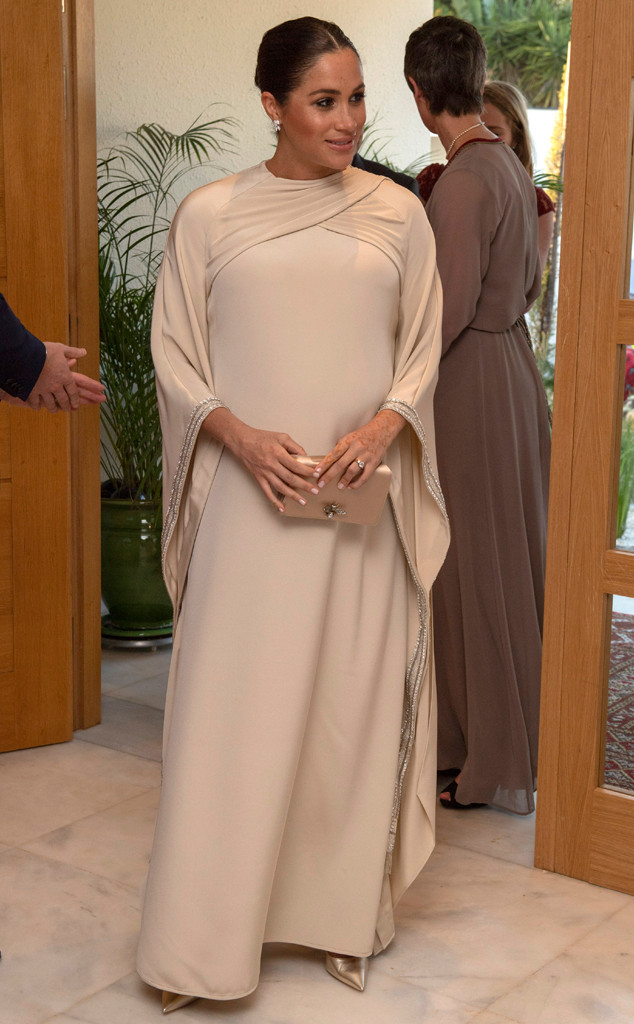 Meghan Markle, Dior Dress, Morocco Visit