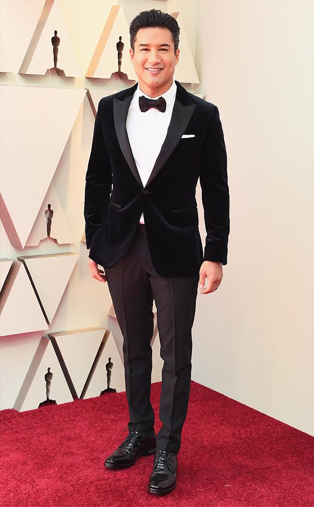 Mario Lopez, 2019 Oscars, 2019 Academy Awards, Red Carpet Fashions