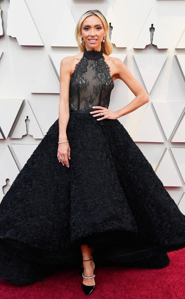 Giuliana Rancic, 2019 Oscars, 2019 Academy Awards, Red Carpet Fashions