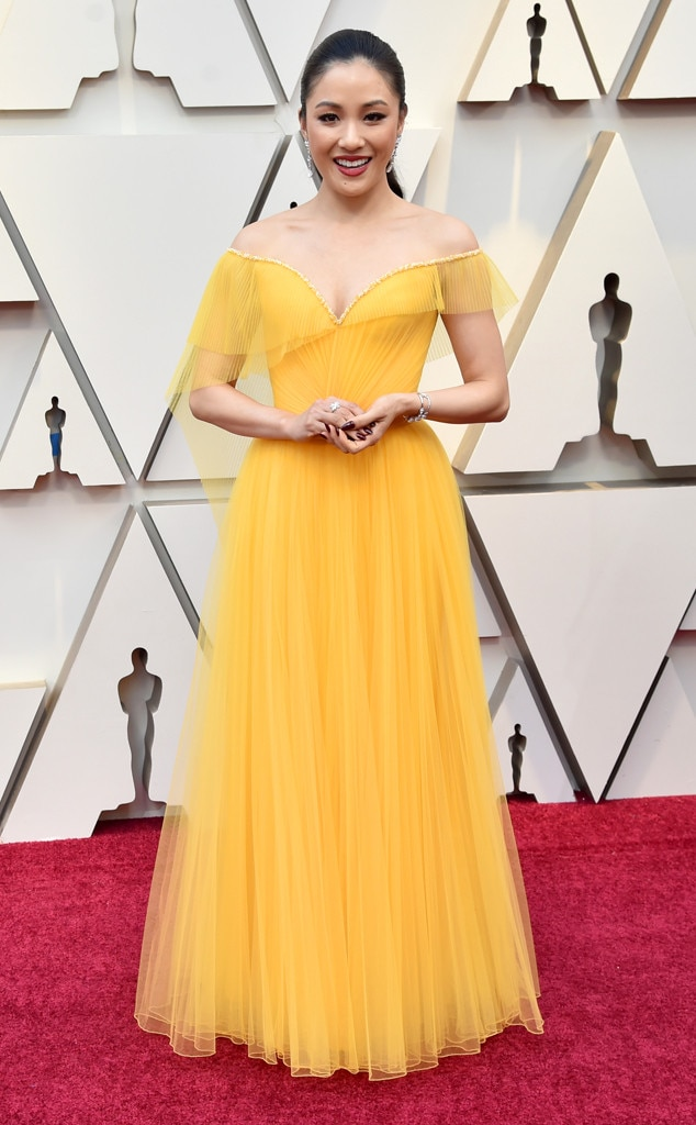 Constance Wu, 2019 Oscars, 2019 Academy Awards, Red Carpet Fashions