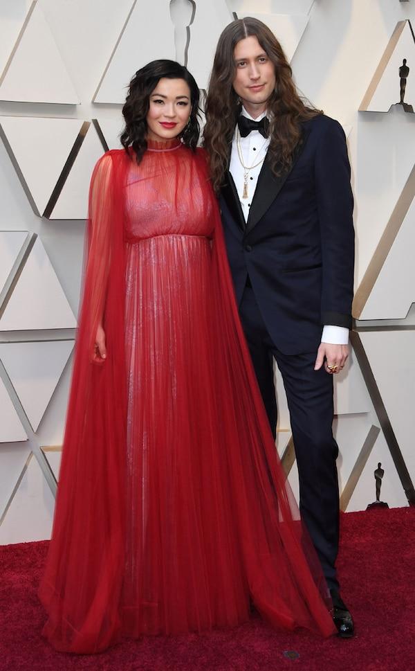 Ludwig Göransson: Ludwig Göransson & Serena McKinney From 2019 Oscars: Red