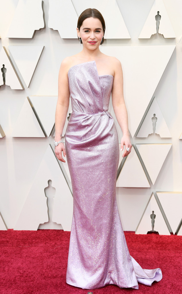 Emilia Clarke, 2019 Oscars, 2019 Academy Awards, Red Carpet Fashions