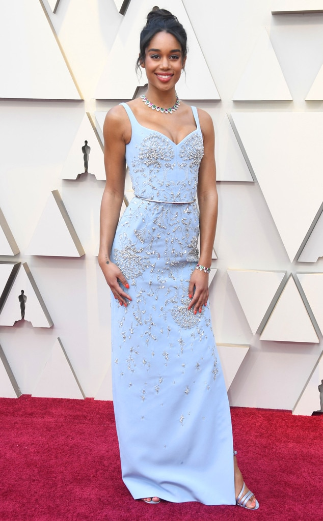 Laura Harrier, 2019 Oscars, 2019 Academy Awards, Red Carpet Fashions