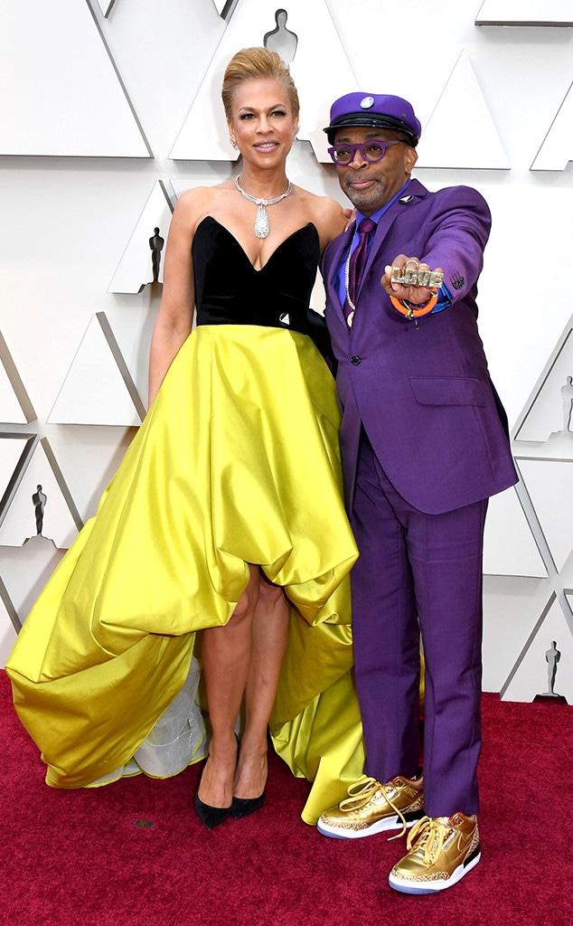 Spike Lee, Tonya Lewis Lee, Couples, 2019 Oscars, 2019 Academy Awards