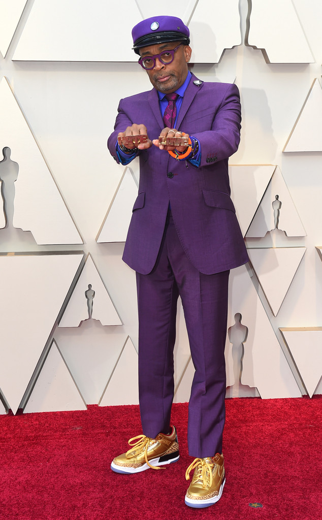 Spike Lee, 2019 Oscars, 2019 Academy Awards, Red Carpet Fashions